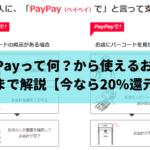 PayPayって何?から使えるお店と使い方まで解説します